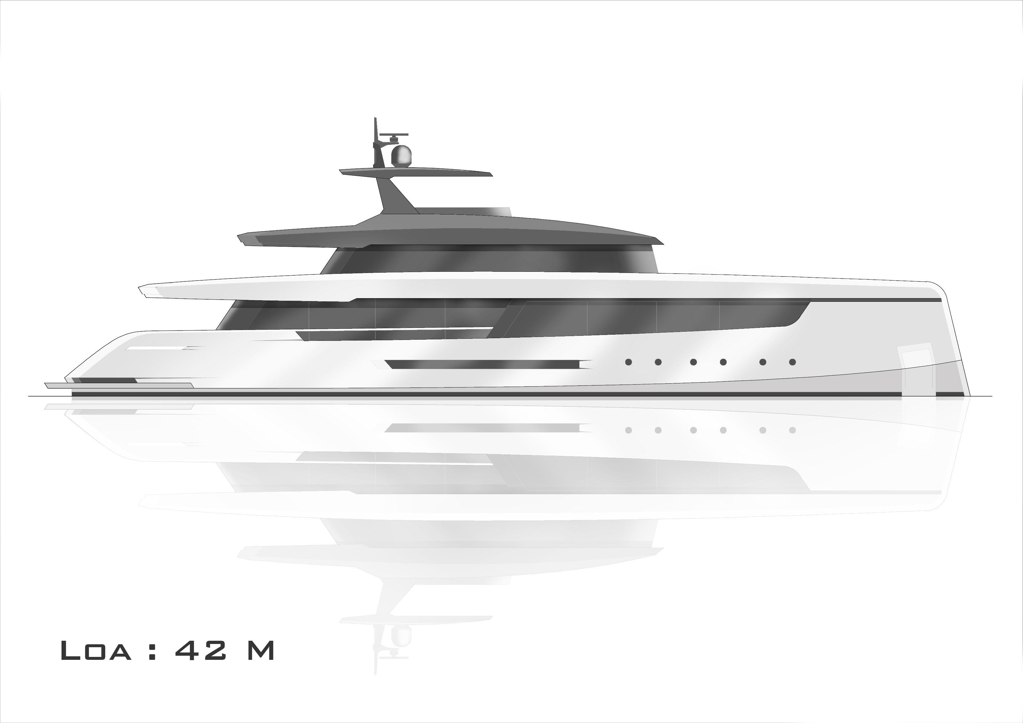 Redna Yachts Cairo-42m