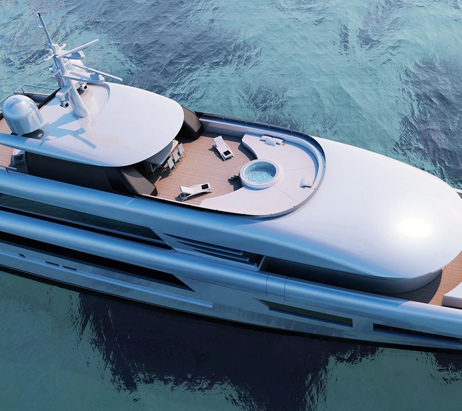 Redna Yachts Exterior Design