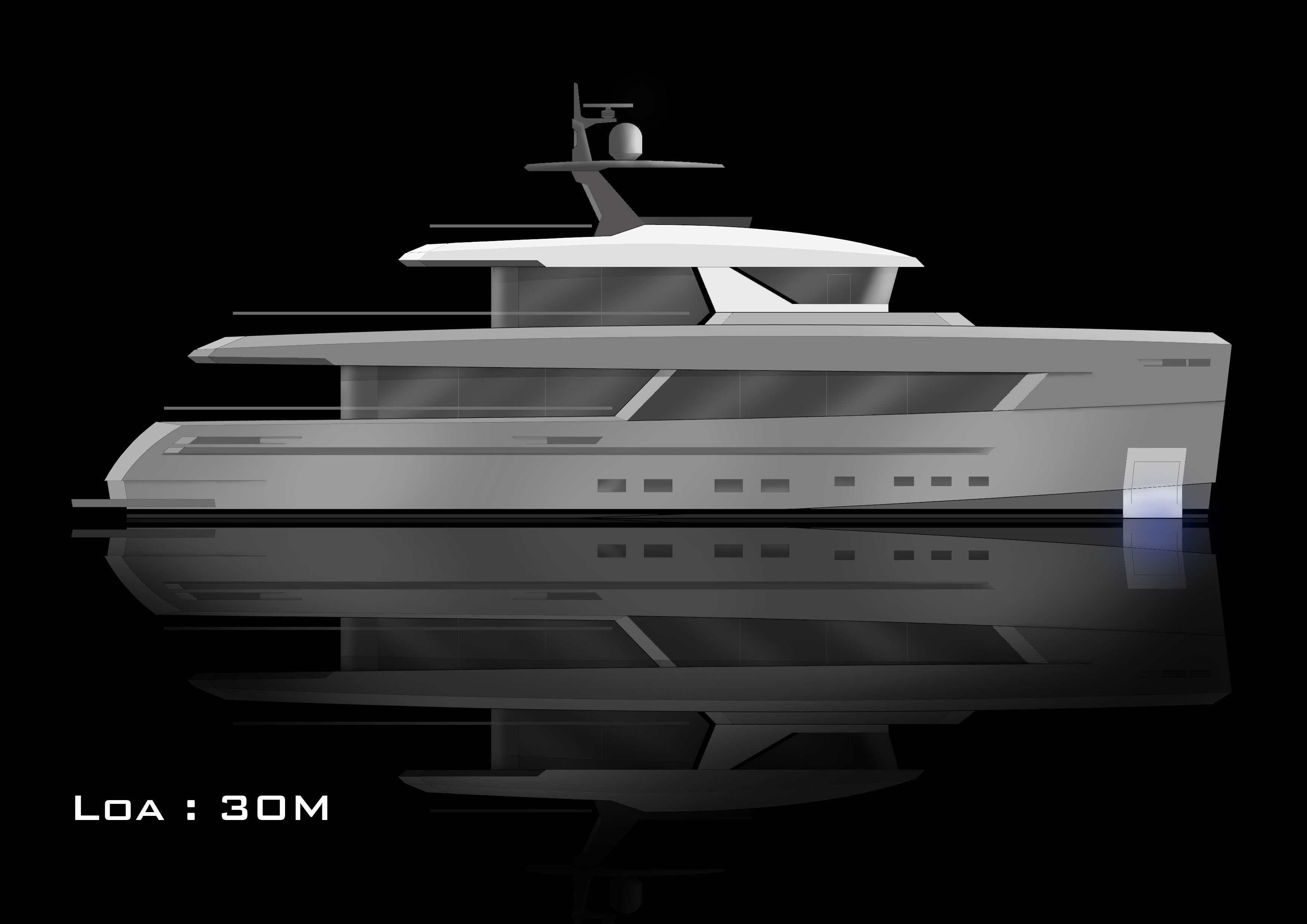 Redna Yachts EXPO30 30m