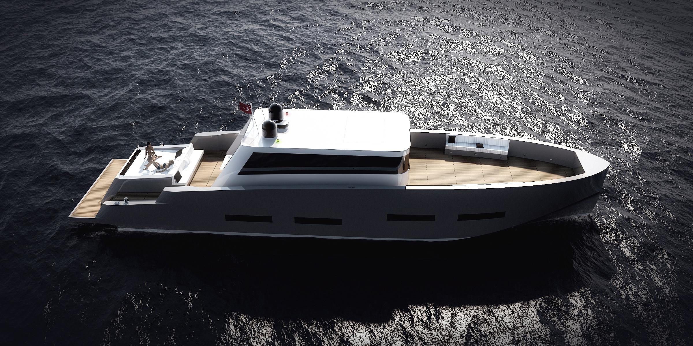 Redna Yachts FL75 23m