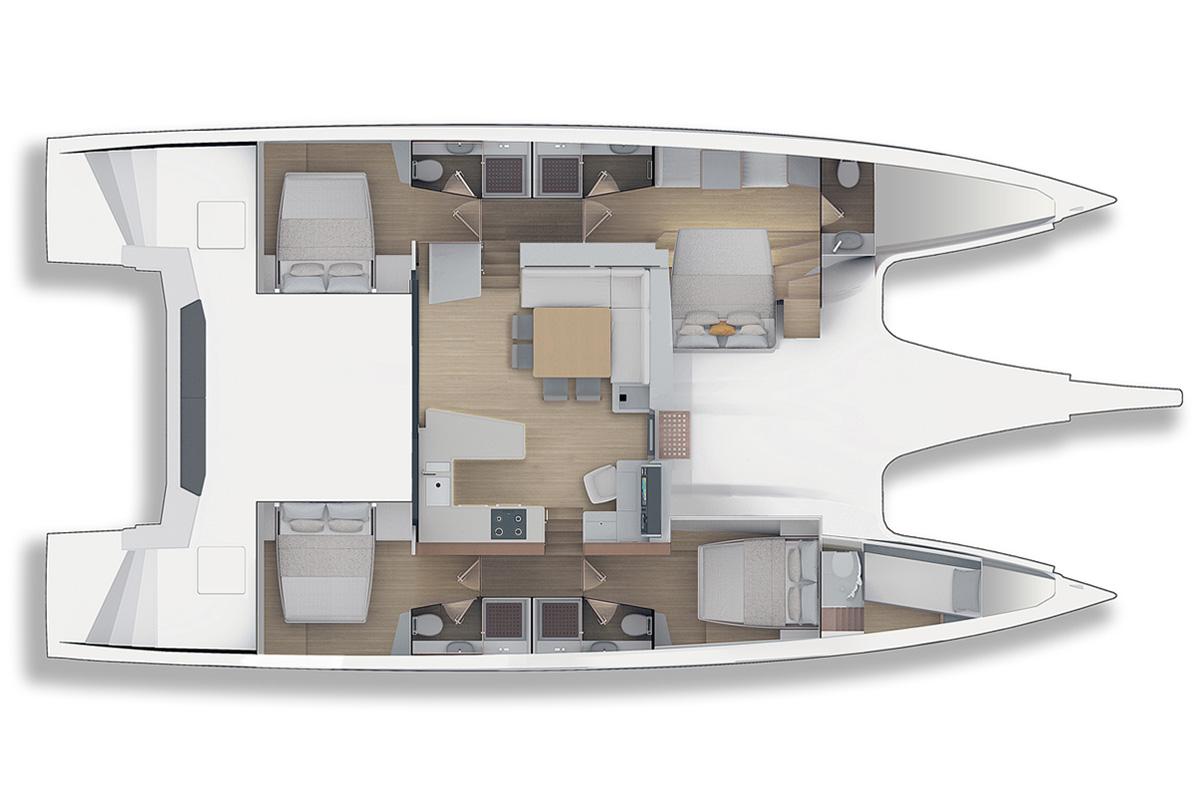 Redna Yachts Privilege 580-9